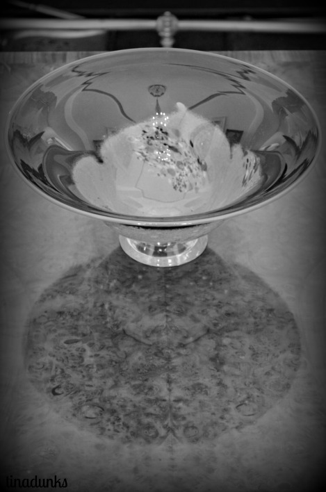 Glass Bowl in South Australia's Government House