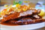 Glazed Pork Loin & Rice