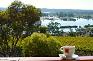 Banrock Station Wine & Wetland Centre.....Coffee with a view.