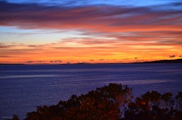 Port Lincoln Sunset over Boston Bay