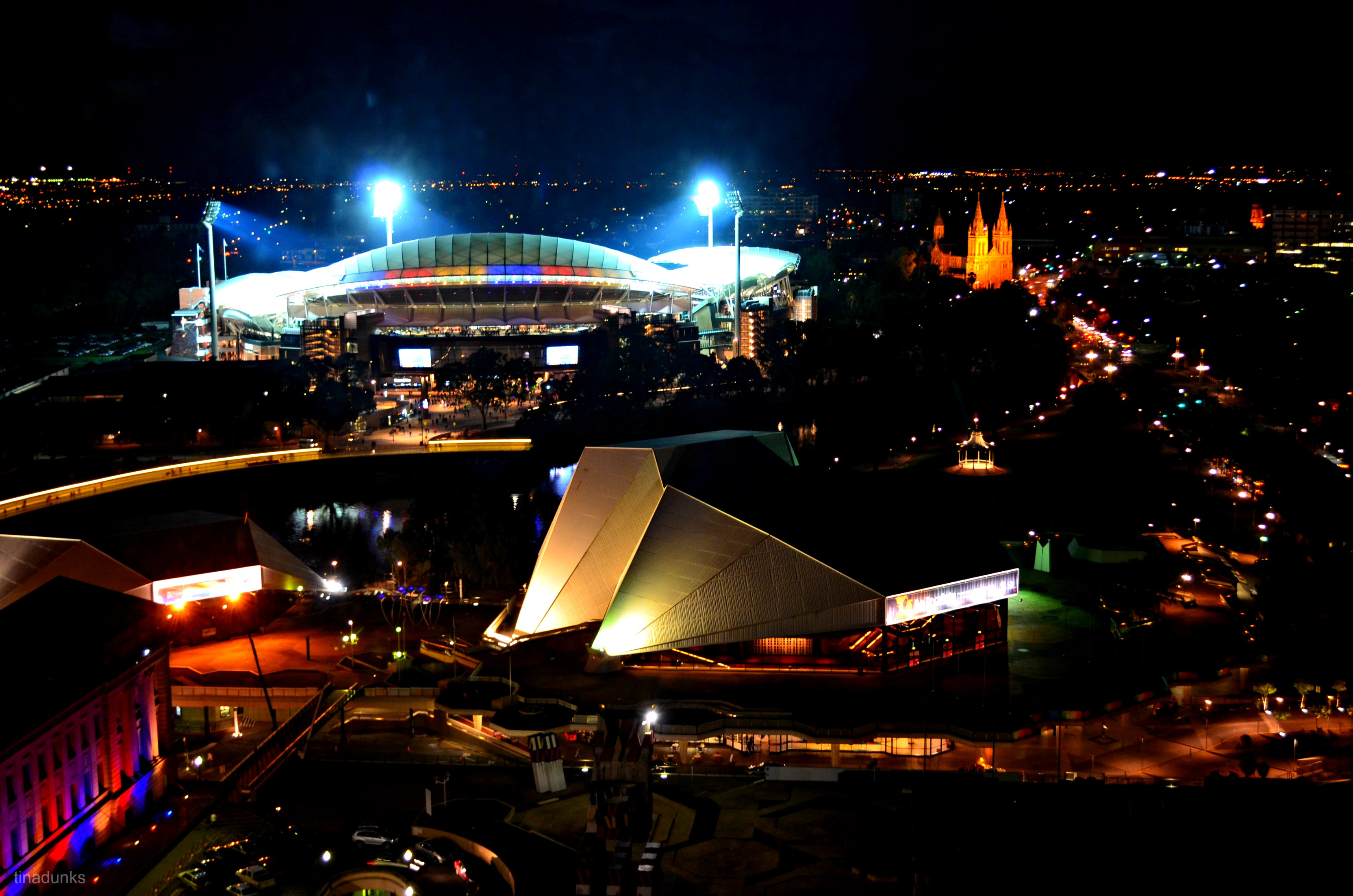 Adelaide s new nightscape tina dunks perceptions