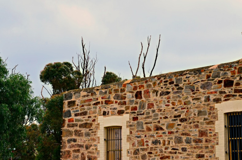 Gaol Wall & Windows